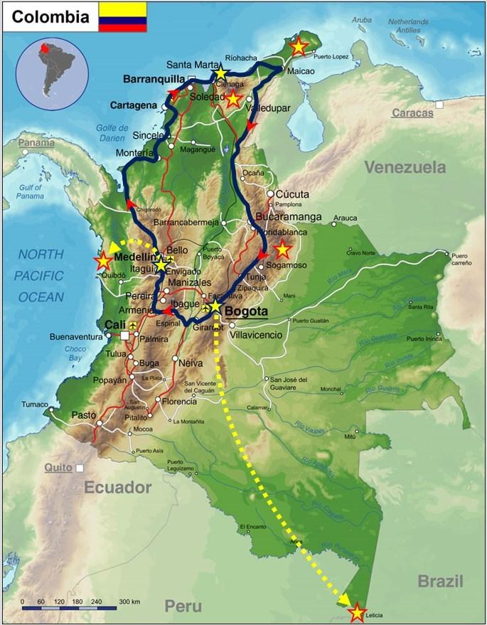 itinerario-colombia