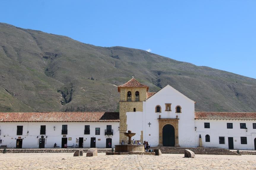 En plena época colonial en Villa deLeyva